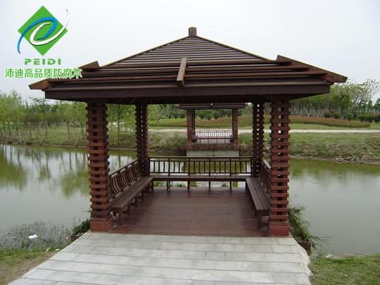 防腐木建造木结构凉亭的种类
