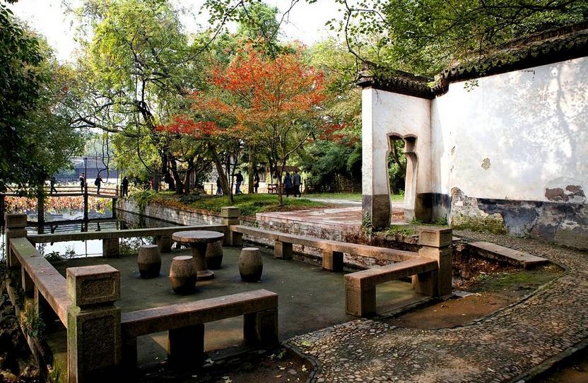 苏州植物景观小品